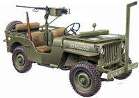 "Автомобиль ""WILLYS JEEP with M2 Machine Gun"" (масштаб: 1/24)"