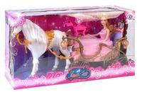 """Игровой набор """"Карета для принцессы"""" (с лошадью и куклой)"""