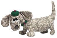 """Набор для шитья из ткани """"Пёс Пятнашка"""""""