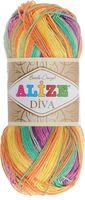 ALIZE. Diva Batik Design №5509 (100 г; 350 м)