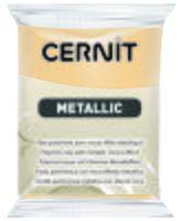 """Глина полимерная """"CERNIT Metallic"""" (шампань; 56 г)"""
