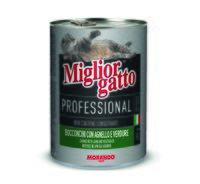 """Консервы для кошек """"Gatto"""" (405 г; ягненок и овощи)"""
