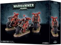 "Набор миниатюр ""Warhammer 40.000. Chaos Space Marines Bikers"" (43-08)"