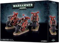 """Набор миниатюр """"Warhammer 40.000. Chaos Space Marines Bikers"""" (43-08)"""