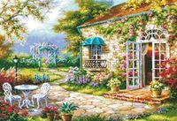 "Вышивка крестом ""Цветущий сад"" (345х500 мм)"