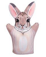 """Мягкая игрушка на руку """"Заяц"""" (32 см)"""