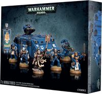 "Набор миниатюр ""Warhammer 40.000. Space Marine Reclusiam Command Squad"" (48-37)"