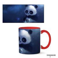 """Кружка """"Панда"""" (392, красная)"""