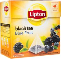 "Чай черный ""Lipton. Blue Fruit Tea"" (20 пакетиков)"