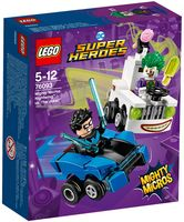 "LEGO Super Heroes ""Mighty Micros: Найтвинг против Джокера"""