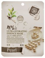 """Тканевая маска для лица """"С натуральным экстрактом жемчуга"""" (25 мл)"""