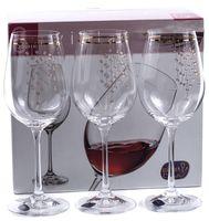 """Бокал для вина стеклянный """"Viola"""" (6 шт.; 350 мл; арт. 40729/Q9104/350)"""