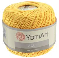 """Пряжа """"YarnArt. Violet №4653"""" (50 г; 282 м; желтый)"""