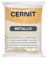 """Глина полимерная """"CERNIT Metallic"""" (золото; 56 г)"""