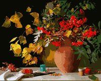 """Картина по номерам """"Осенний букет"""" (400х500 мм; арт. GX6274)"""