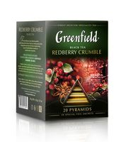 "Чай черный ""Greenfield. Redberry Crumble"" (20 пакетиков)"