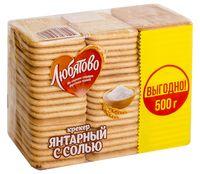 "Крекер ""Янтарный с солью"" (500 г)"