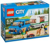 """LEGO City """"Фургон и дом на колесах"""""""