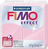 """Глина полимерная """"FIMO Effect"""" (светло-розовый; 57 г)"""