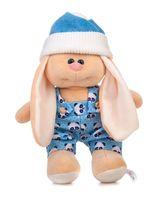 """Мягкая игрушка """"Заяц Саша. В комбинезоне"""" (28 см)"""