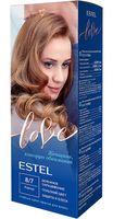 """Крем-краска для волос """"Estel Love"""" (тон: 8/7, корица)"""