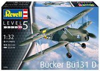 "Сборная модель ""Самолёт Bücker Bü131 D"" (масштаб: 1/32)"