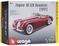 "Модель машины ""Bburago. Kit. Jaguar XK120 Roadster"" (масштаб: 1/24)"