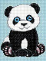 """Алмазная вышивка-мозаика """"Панда"""" (150х200 мм)"""