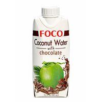 """Вода кокосовая """"Foco. С шоколадом"""" (330 мл)"""