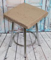 """Подушка на стул """"Velours Cuadro"""" (33х33 см; кофейная)"""