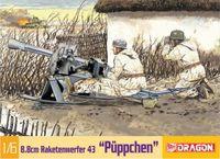 "Противотанковый гранатомет ""8.8cm Raketenwerfer 43 Puppchen"" (масштаб: 1/6)"