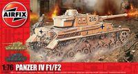 """Средний танк """"Panzer IV F1/F2"""" (масштаб: 1/76)"""