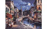 "Картина по номерам ""Ночная Венеция"" (400x500 мм)"