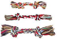 """Игрушка для собаки """"Веревка с двумя узлами"""" (20 см)"""