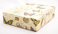 "Подарочная коробка ""Botanic and Butterflies"" (16,5х20х5 см)"