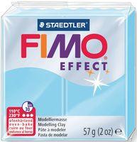 """Глина полимерная """"FIMO Effect"""" (светло-голубой; 57 г)"""