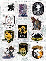 "Набор виниловых наклеек №207 ""Metal Gear Solid"""