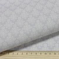 """Ткань """"Винтажные гортензии"""" №2 (бежево-коричневая)"""