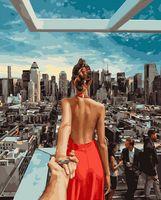 "Картина по номерам ""Следуй за мной. Нью-Йорк"" (400х500 мм)"