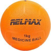 Медбол 1 кг (оранжевый)