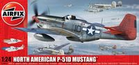 "Истребитель ""North American Aviation P-51D Mustang"" (масштаб: 1/24)"