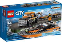 """LEGO City """"Внедорожник 4x4 с гоночным катером"""""""