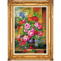 """Алмазная вышивка-мозаика """"Букет садовых цветов"""""""