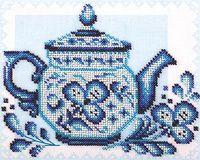 """Вышивка бисером """"Волшебное чаепитие"""""""