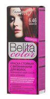"Краска для волос ""Belita Color"" (тон: 6.46, махагон)"