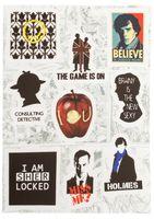 "Набор виниловых наклеек №208 ""Sherlock Holmes"""