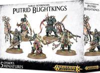 Warhammer Age of Sigmar. Maggotkin of Nurgle. Putrid Blightkings (83-28)