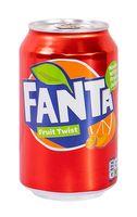 """Напиток газированный """"Fanta. Персик, апельсин и маракуйя"""" (330 мл)"""