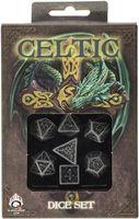 """Набор кубиков """"Celtic"""" (7 шт.; серо-черный)"""