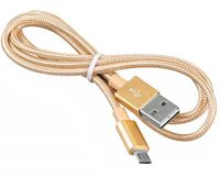 Кабель USB2.0 Buro Reversible Braided USB A (m)/micro USB B (m),1м (BHP MICROUSB 1M BRAIDED)